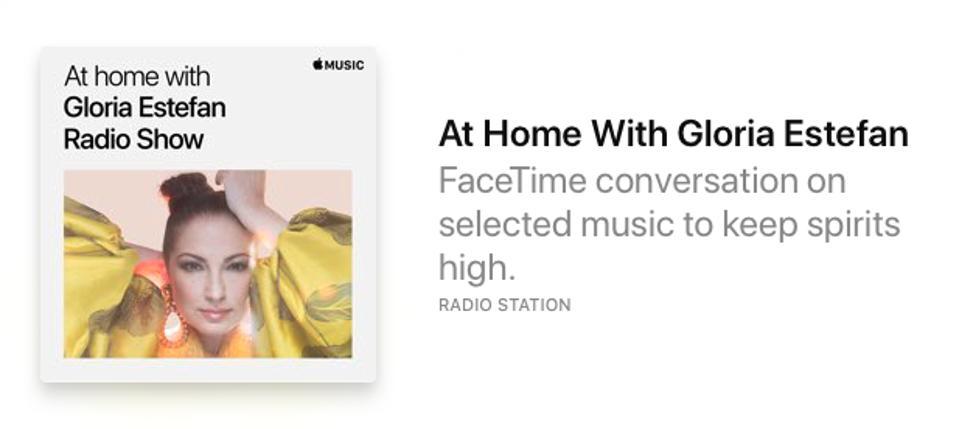 An Apple Music radio station