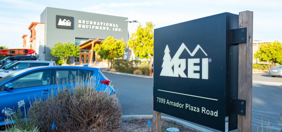 REI Sign