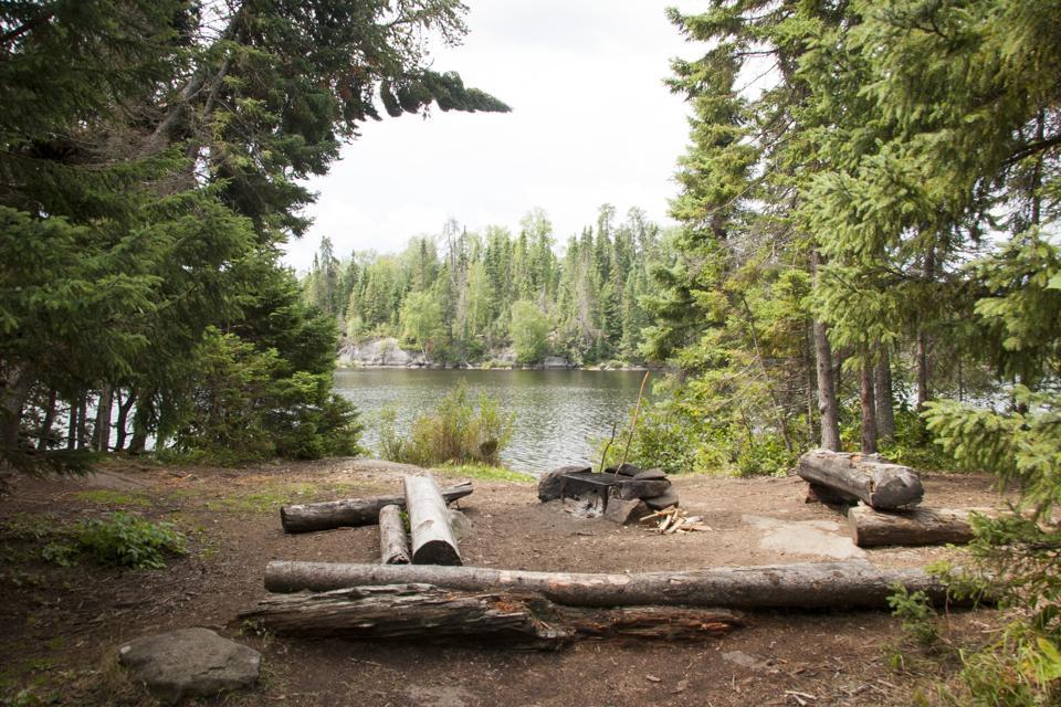 Boundary Waters Canoe Area Campsite