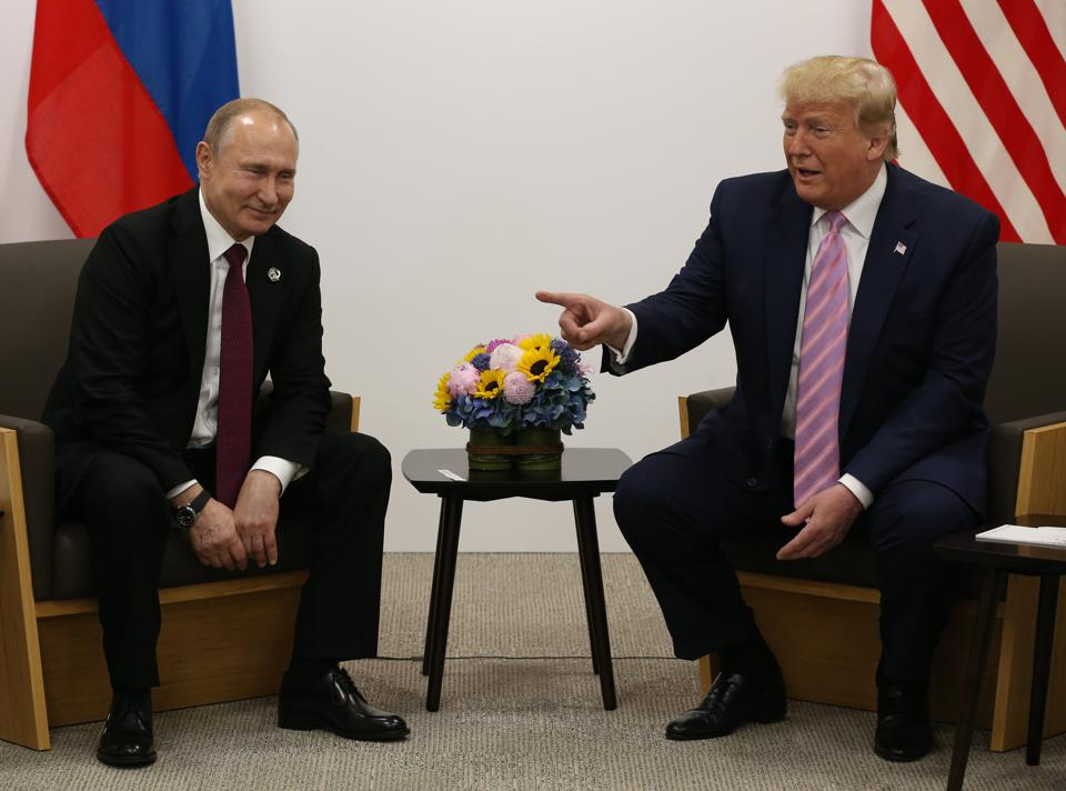 Trump Wrote Putin To Congratulate Him On Being Named Time Person Of The Year