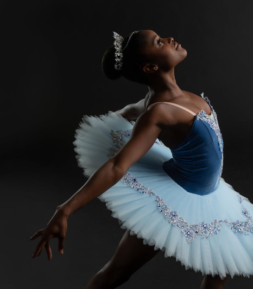 Ingrid Silva, an African Brazilian ballerina of The Dance Theatre of Harlem