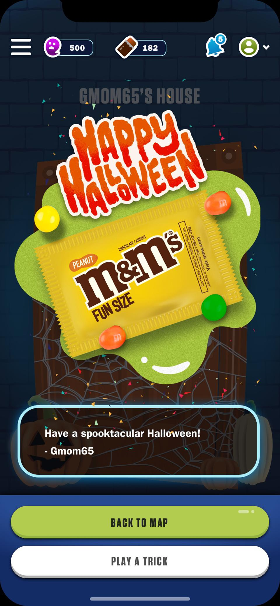 Mars Wrigley will launch Treat Town on Halloween this year.