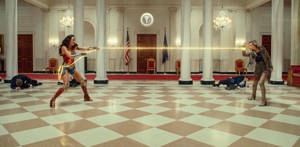 Gal Gadot and Kristen Wiig star in Warner's ″Wonder Woman 1984.″