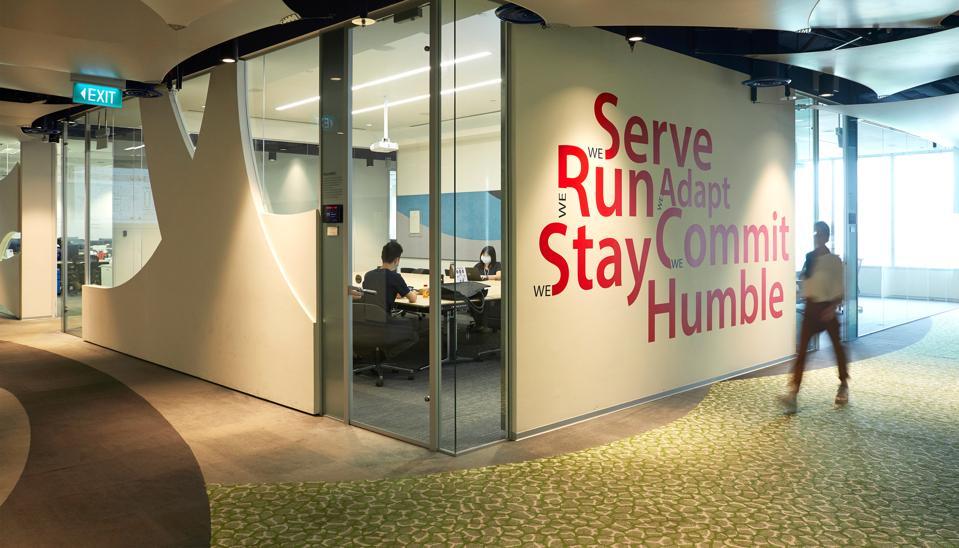 Sea's headquarters in Singapore.