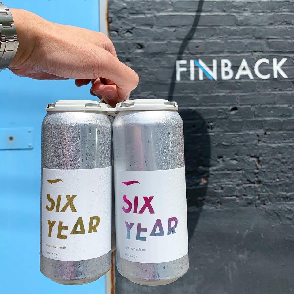 Finback Brewery six year anniversary beer