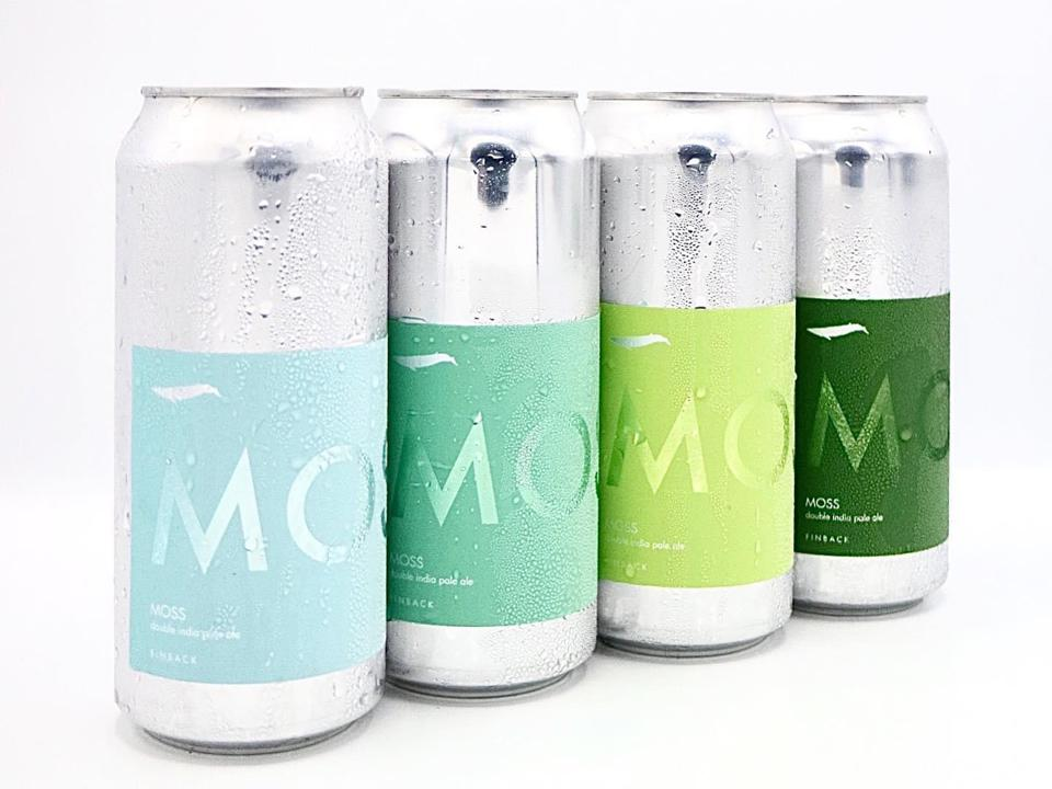 Moss, a double IPA from Finback Brewery