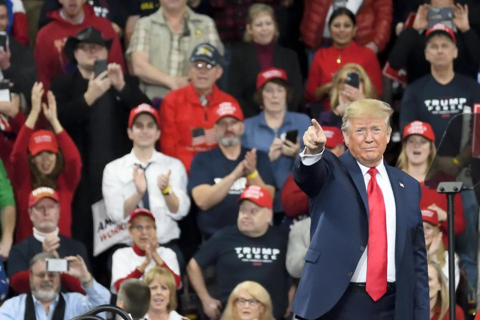 Trump Returns In Pennsylvania