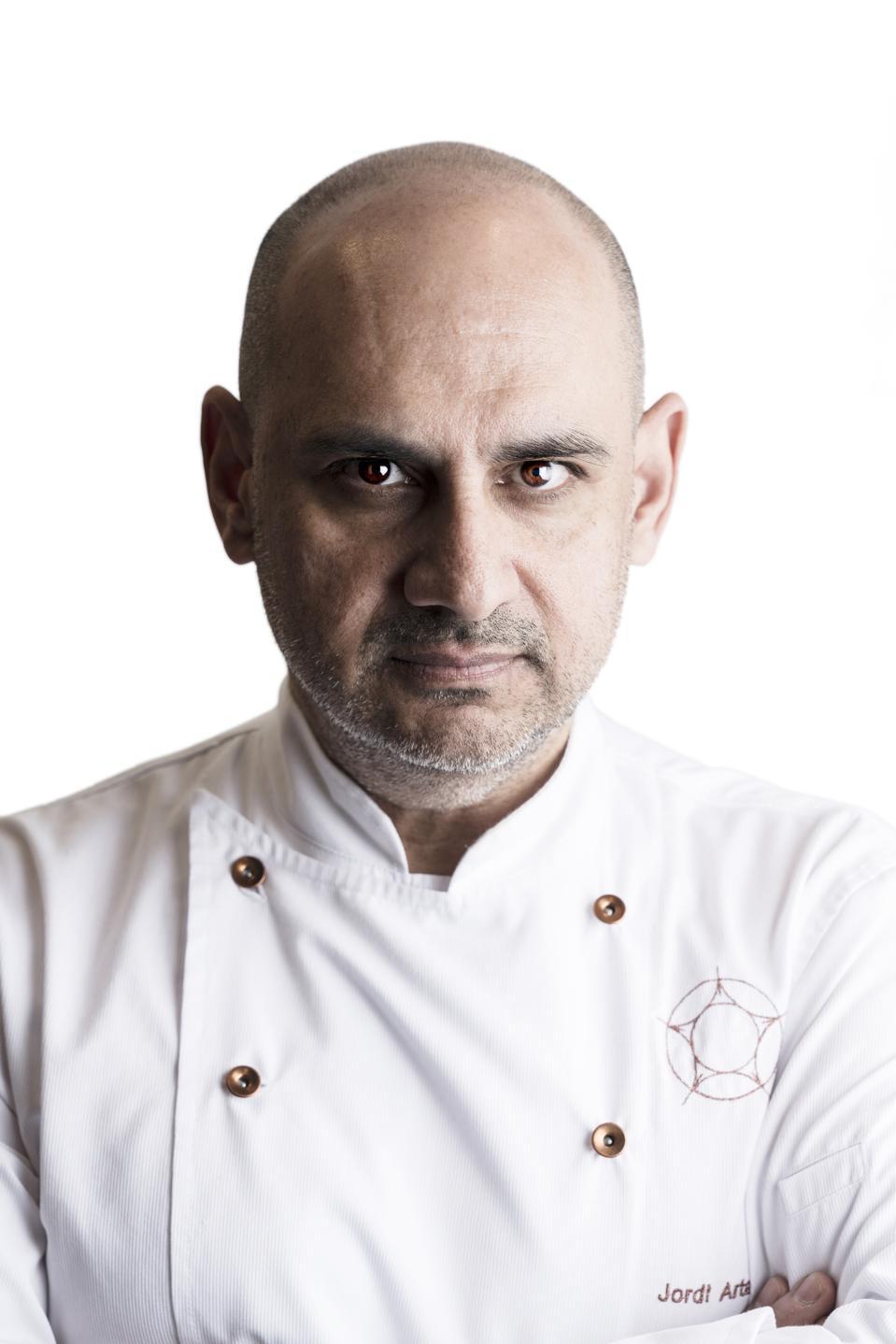 Portrait of Chef Jordi Artal