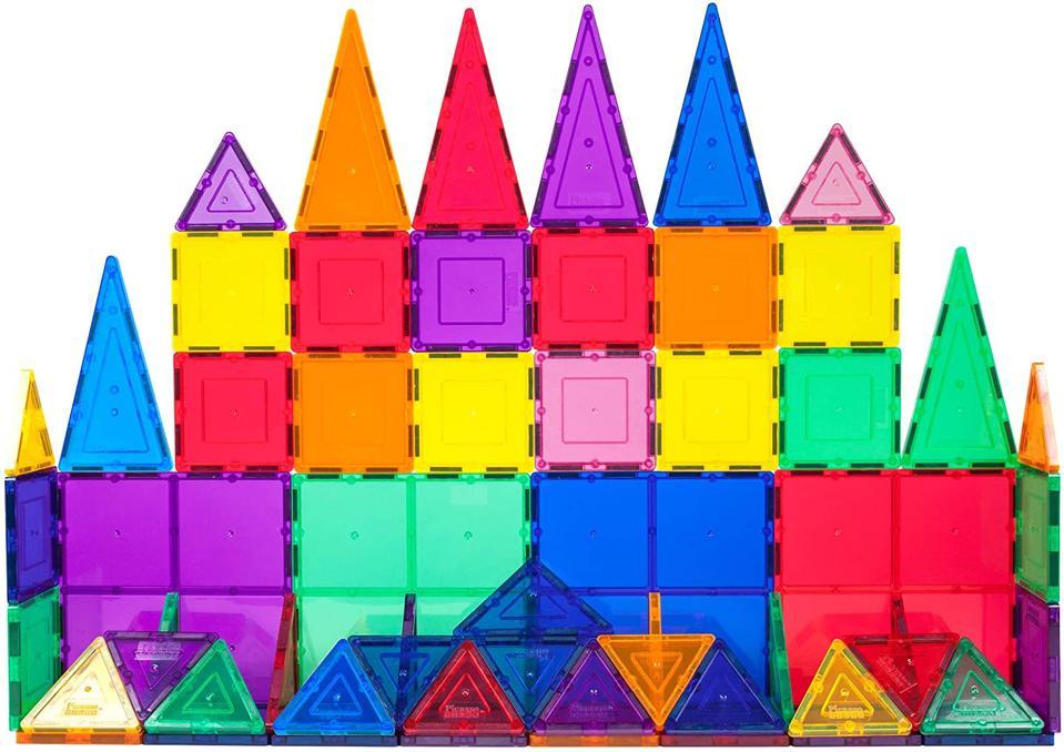 PicassoTiles 60 Piece Magnet Building Tile Set