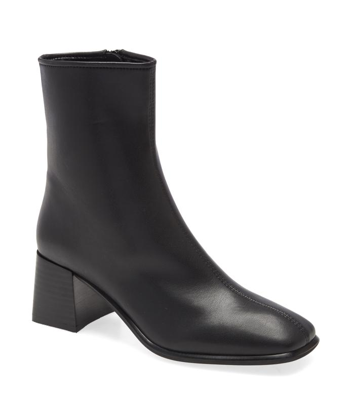 Jeffrey Campbell Troye Square Toe Bootie (Women)