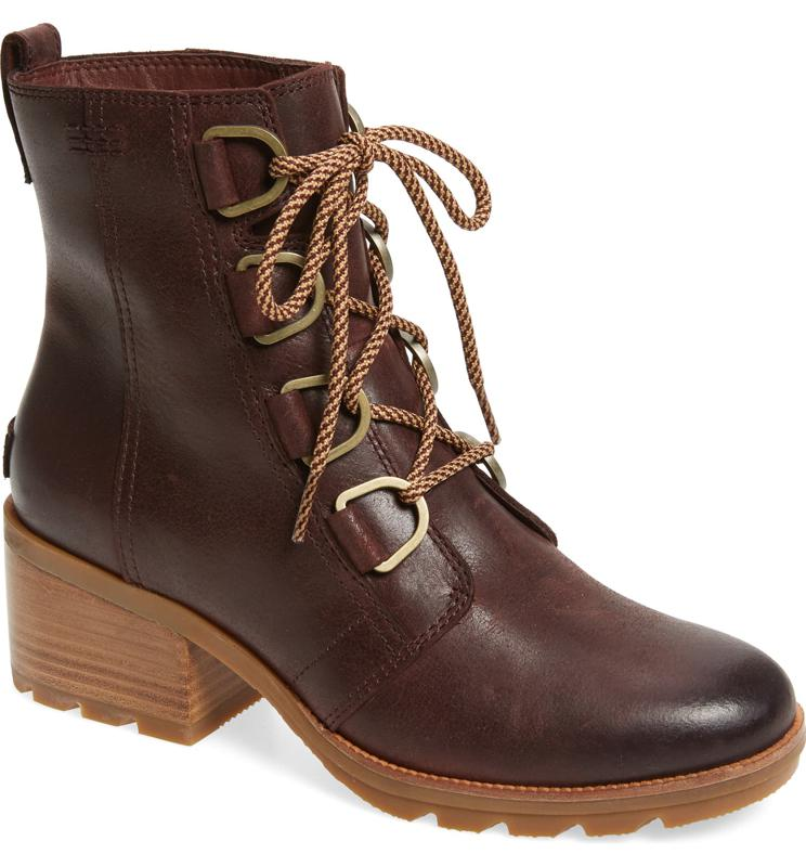 SOREL Cate Waterproof Lace-Up Boot (Women)