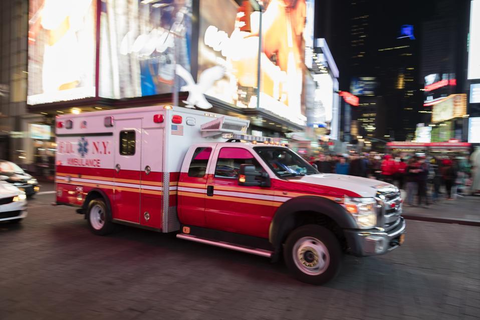 Ambulance Speeding in New York