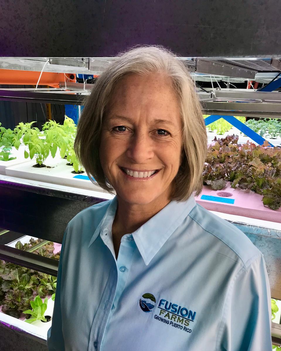 Lisa Jander, cofounder of Fusion Farms