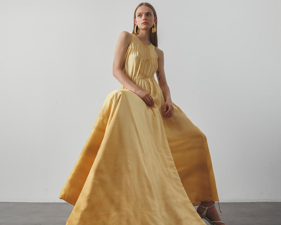 Nynne SS21 gown.