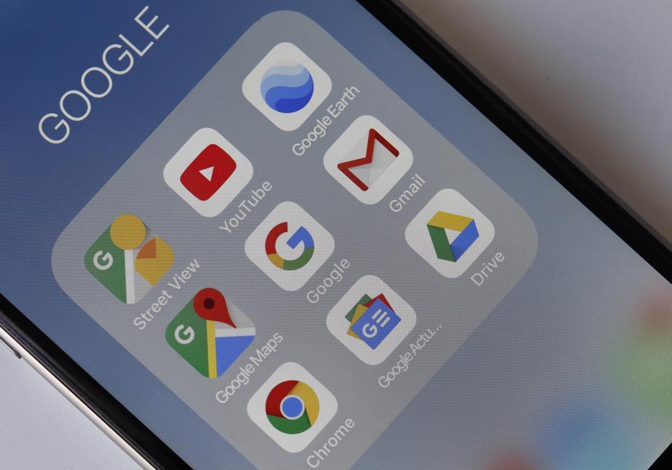 ″Google Mobile Services″ : Illustration