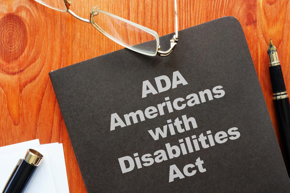 Conceptual photo showing printed text Americans with Disabilities Act (ADA)