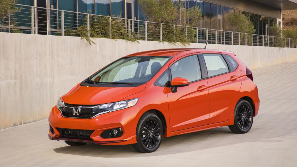 The subcompact Honda Fit is among the models that won't be returning for 2021.