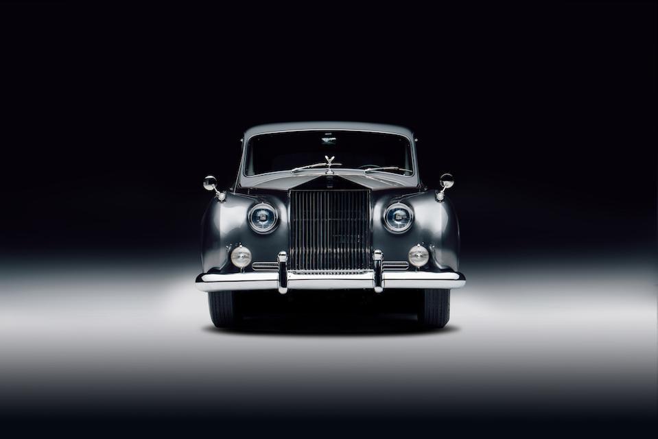 The Rolls-Royce Phantom V as a modern-day electric car by Lunaz