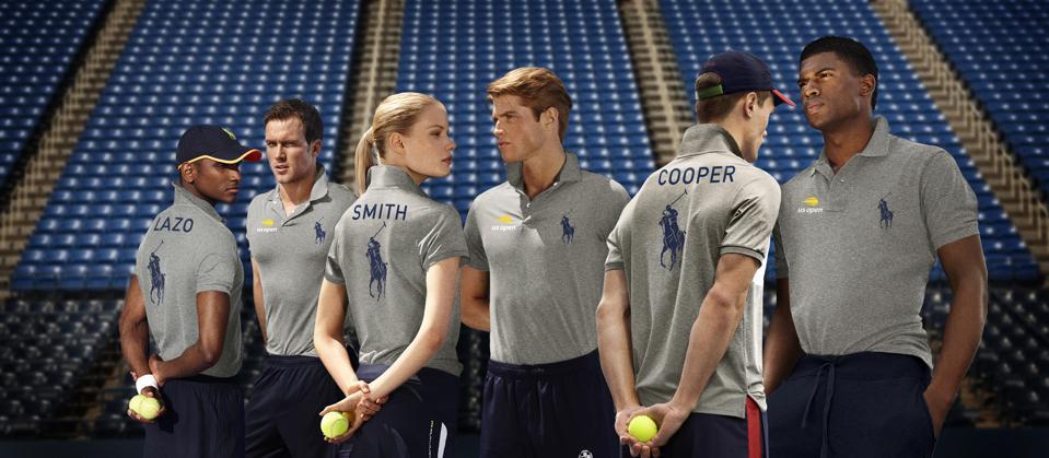 U.S. Open ballperson uniform Ralph Lauren