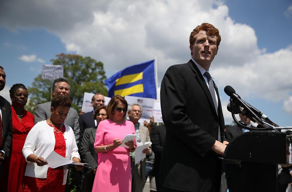 Rep. Joe Kennedy, Member Of LGBT Equality Caucus, Holds News Conference