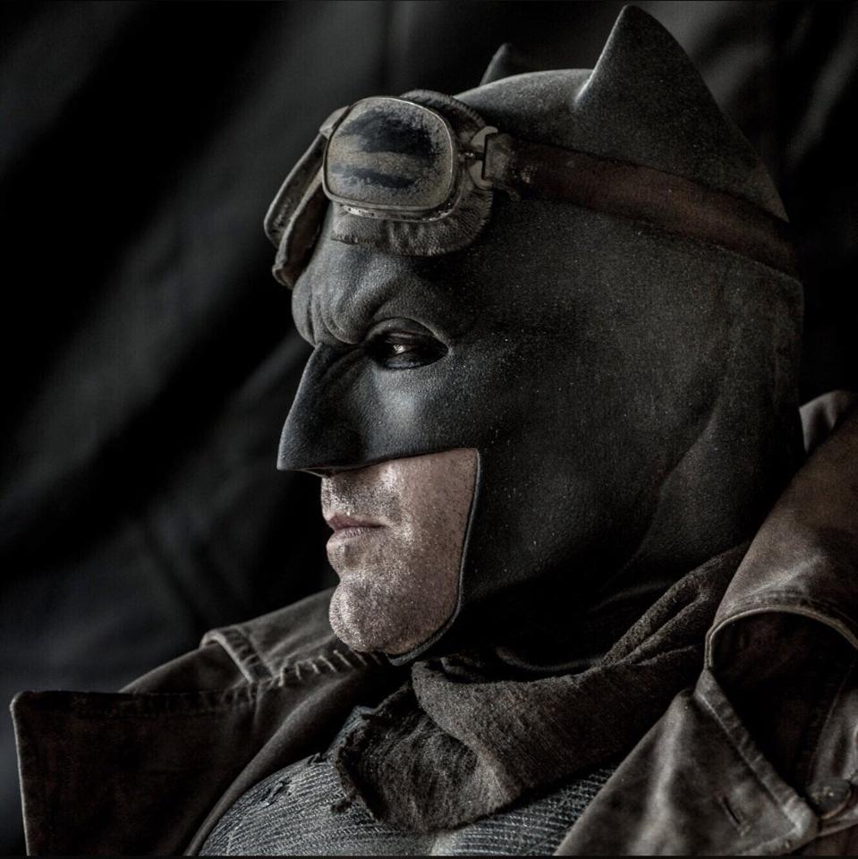 Ben Affleck as Batman in Warner's ″Justice League.″