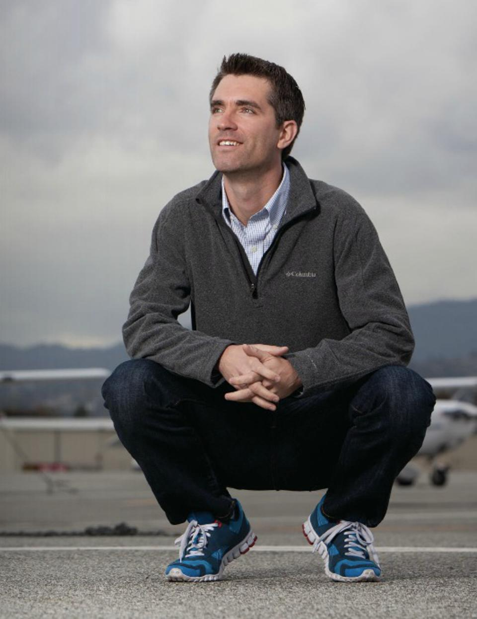 A picture of Wade Eyerly, Degree Insurance CEO and co-founder