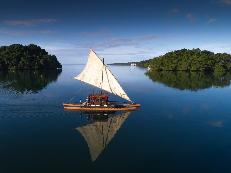 A drua boat
