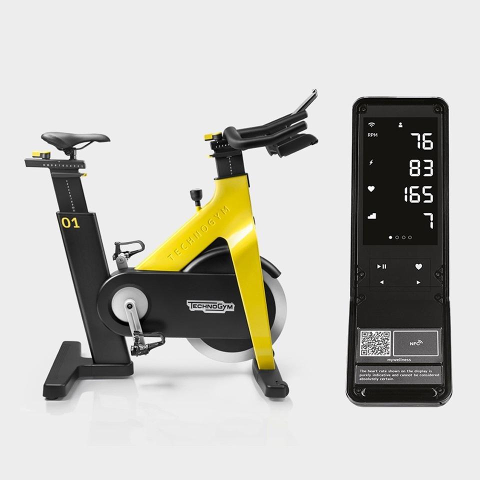 Technogym indoor fitness stationary bike