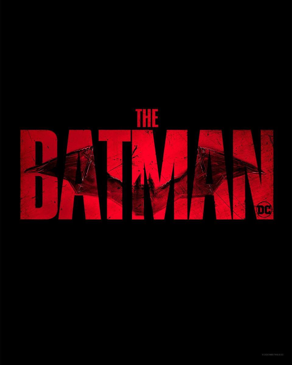 Official logo for Warner's ″The Batman.″