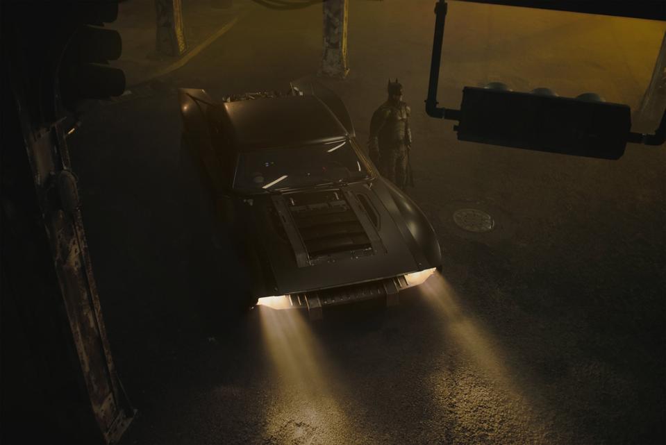 Robert Pattinson as Batman in Warner's ″The Batman.″
