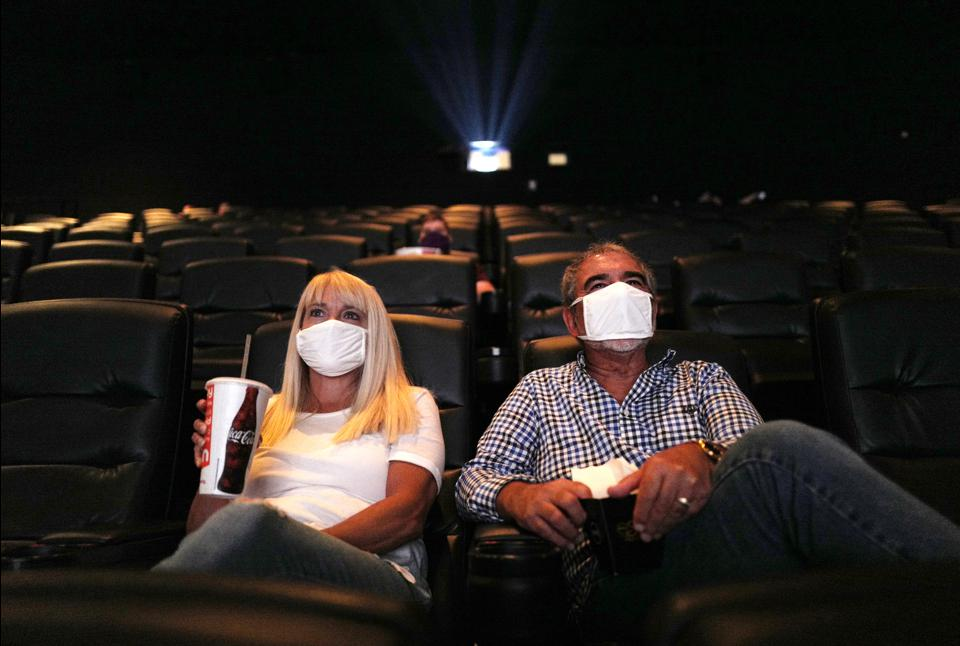 Is It Safe To Watch A Movie In A Theater During The Coronavirus Pandemic?