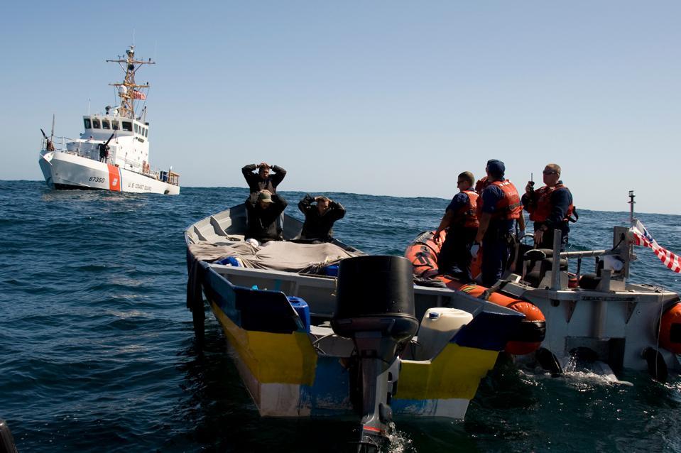US Coast Guard interdicts a 'go-slow' panga
