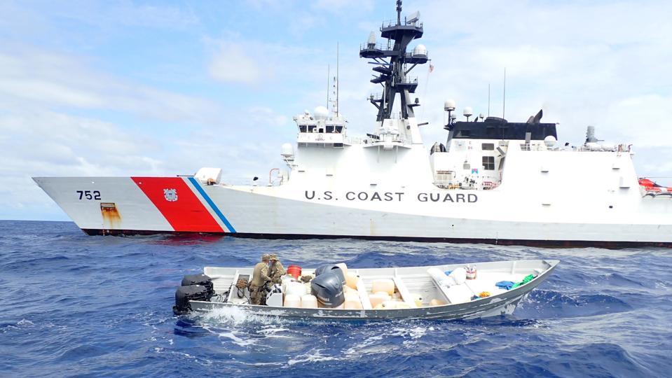 Coast Guard interdicts a go-fast boat