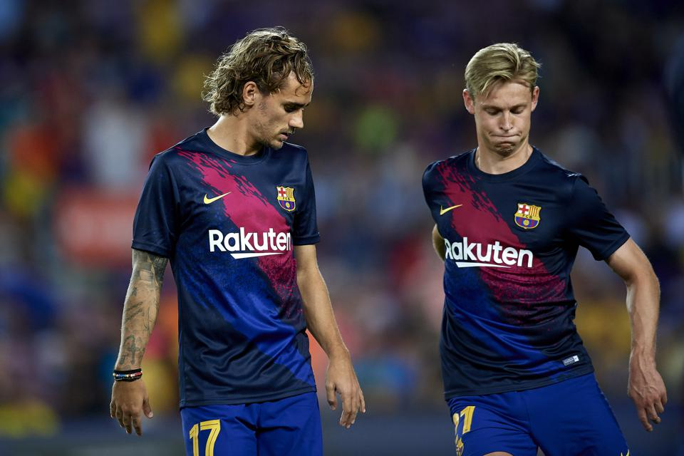 Fc Barcelona Coach Ronald Koeman Has New Tactical Plans For Antoine Griezmann And Frenkie De Jong