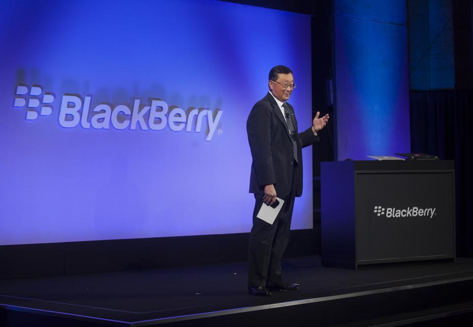 "BlackBerry Ltd. Unveils The ""Classic"" Mobile Device"