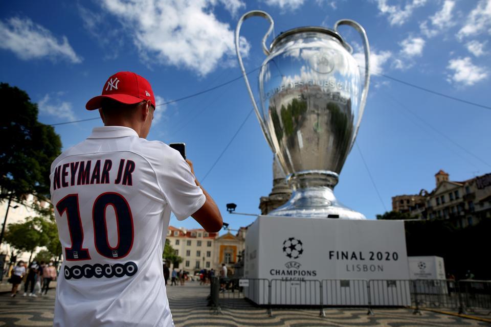 Champions League Finals 2020 - Lisbon City Views, Neymar