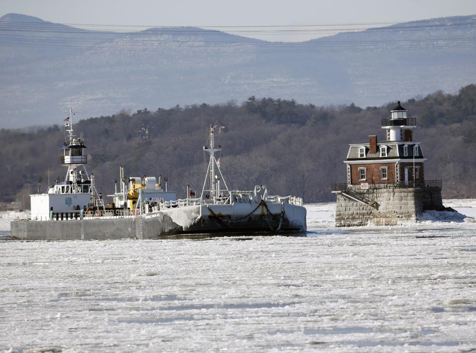 Cuaca Musim Dingin Bagian Utara NY