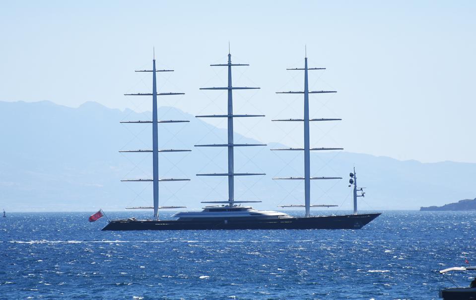 ″The Maltese Falcon″ in Turkey's Bodrum