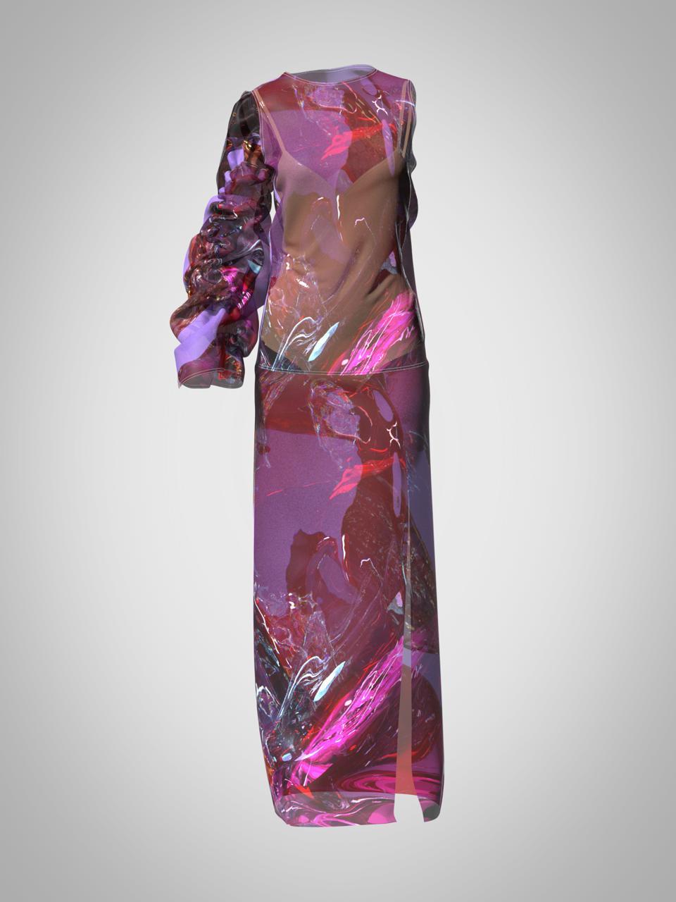 Nina Doll, Dress X digital dress