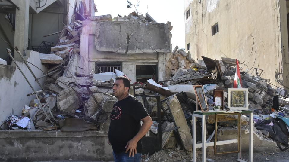 Syrian man lost family in Beirut explosions