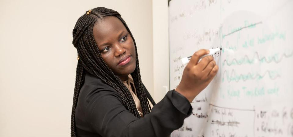 Adji Bousso Dieng will be Princeton's School of Engineering's first Black female faculty.