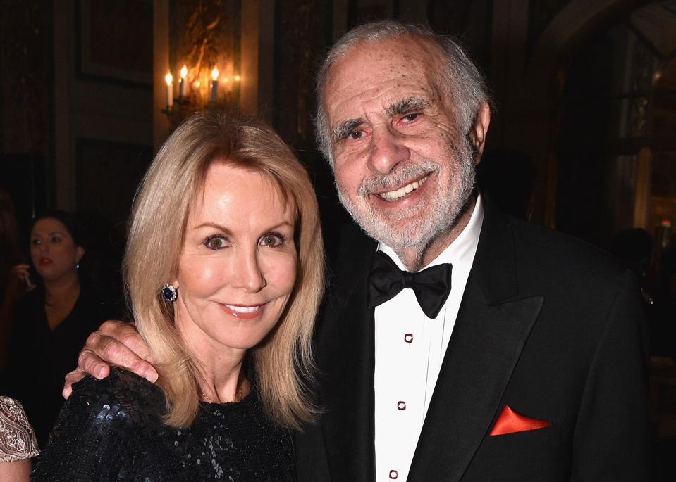 Gail and Carl Icahn