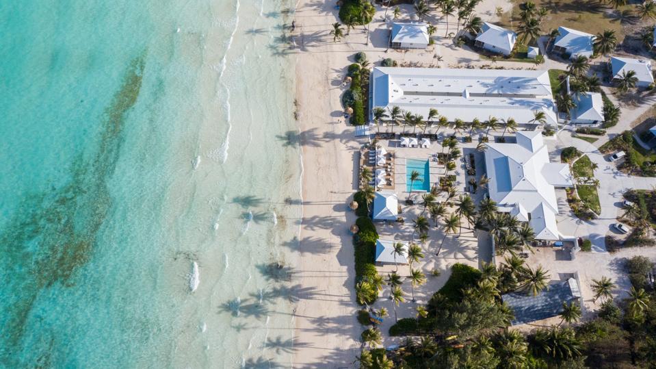 Aerial view of Caerula Mar Resort