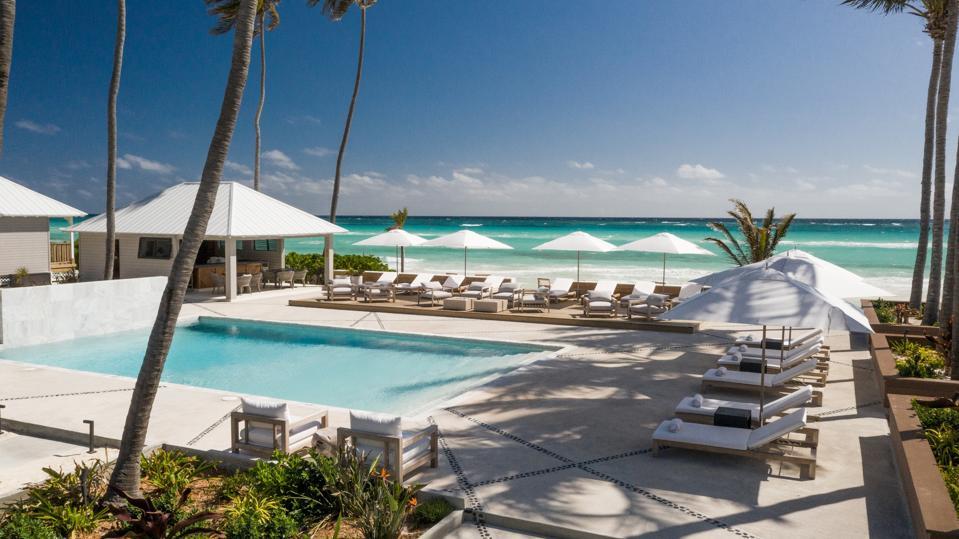 Poolside at Caerula Mar Resort
