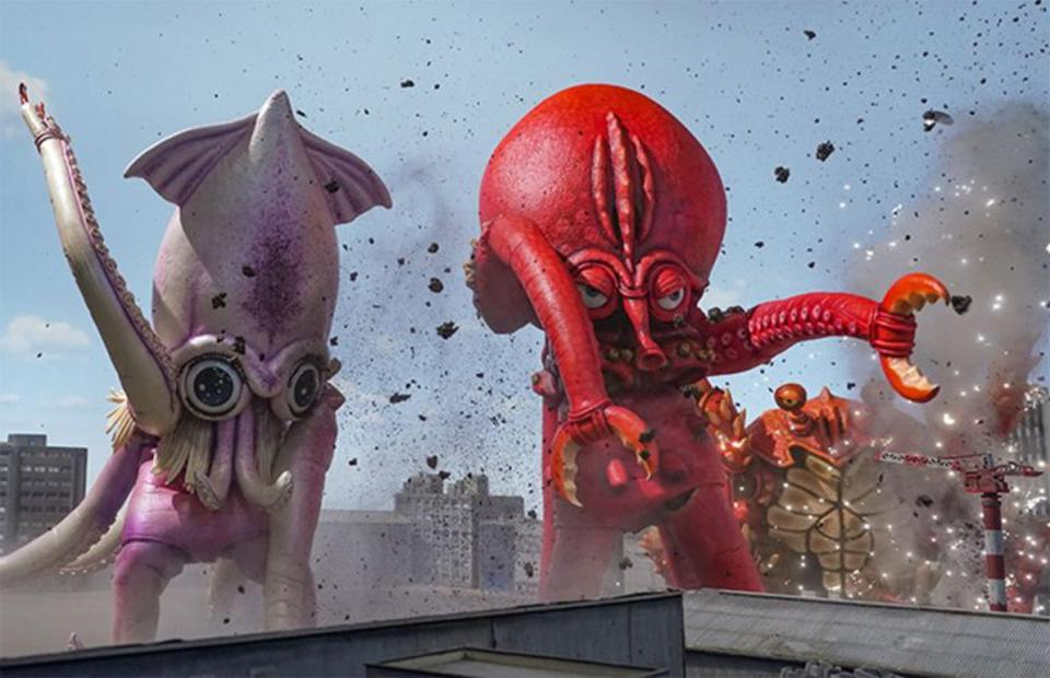 Still from Monster Seafood Wars