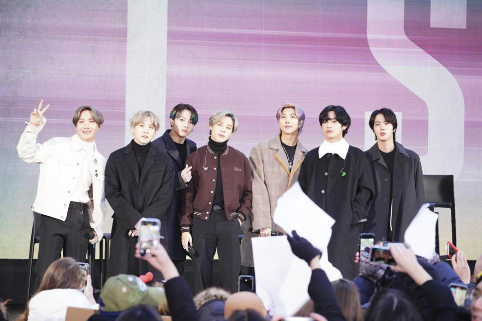 BTS at the ″Today″ Show - 2/21/20