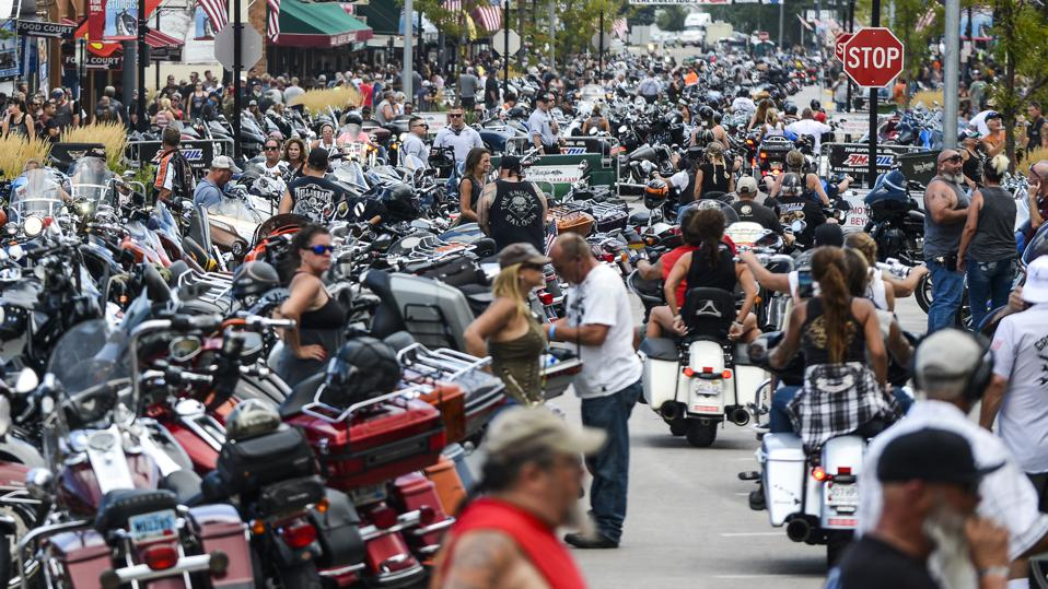 At Least 22 Coronavirus Cases Linked To Sturgis Motorcycle Rally Attended By Hundreds Of Thousands