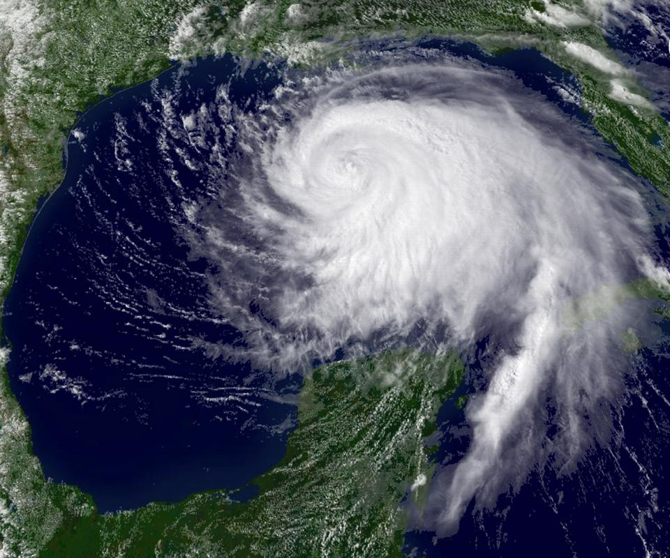 Hurricane Ike Moves Toward Texas