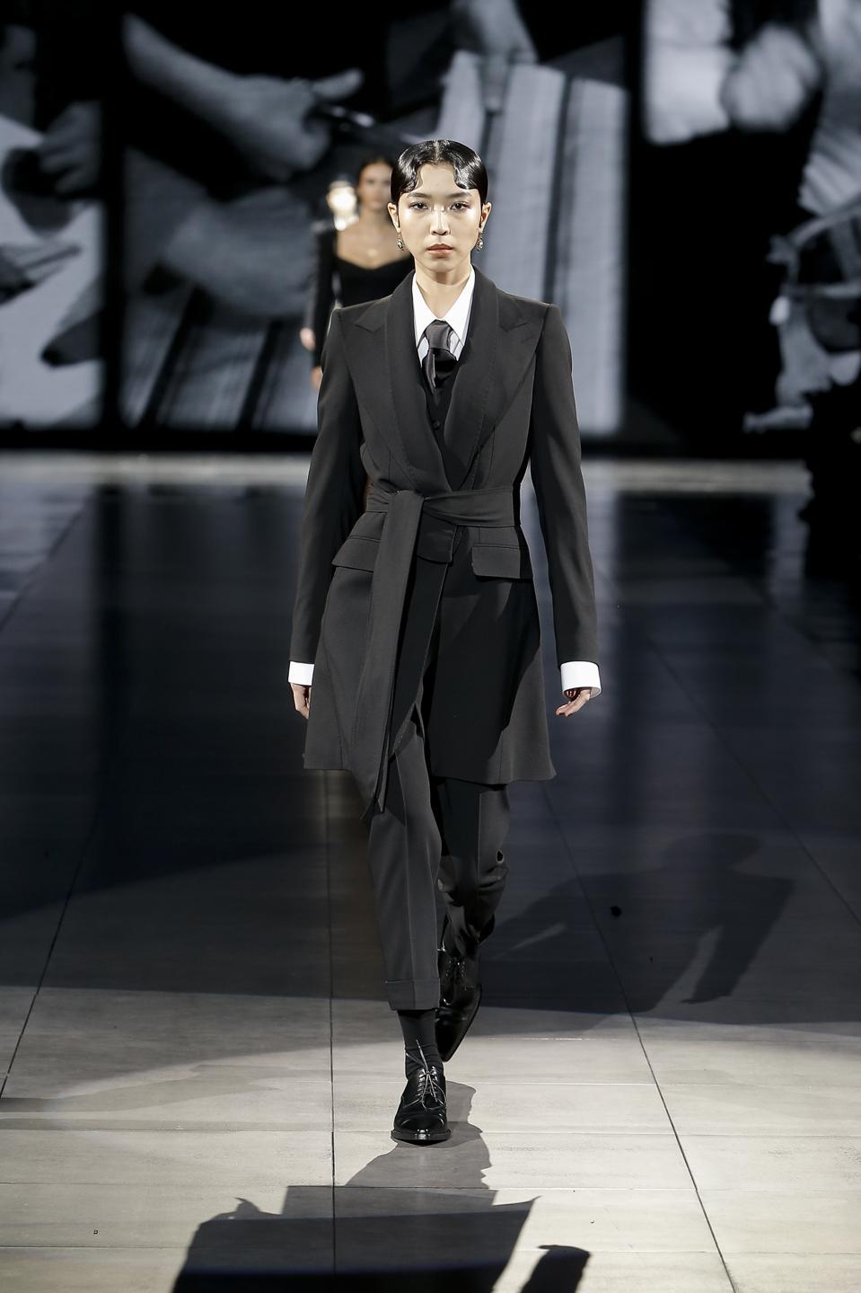 Dolce&Gabbana Fall/Winter 2020 runway look
