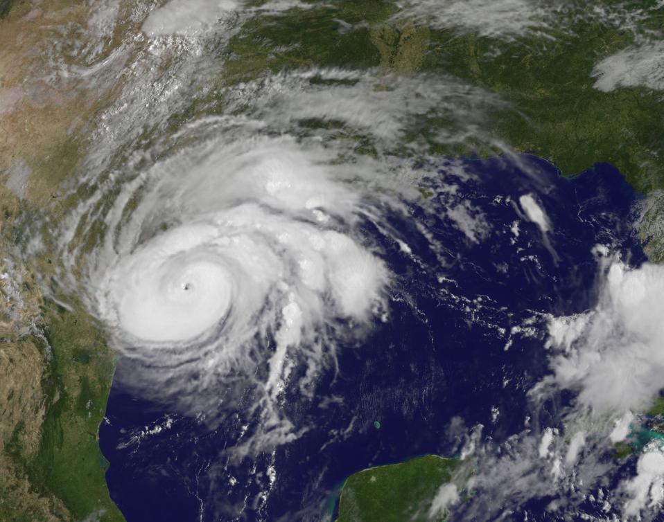 Hurricane Harvey Reaches Texas' Gulf Coast